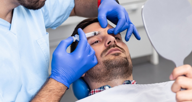 Botox and Fillers for Men